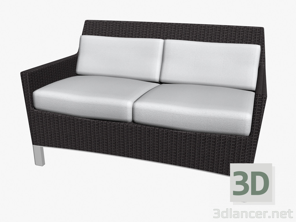 3d model sofa bed double manufacturer triconfort id 16414 for Sofa bed 3d model