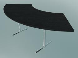 Table Flip-top Crescent en T (1500x750mm)