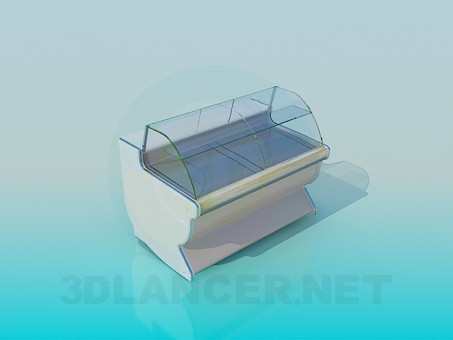 3d model Countertop Cooler - preview