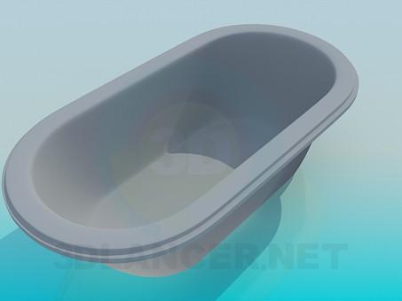 3d model Common bath - preview
