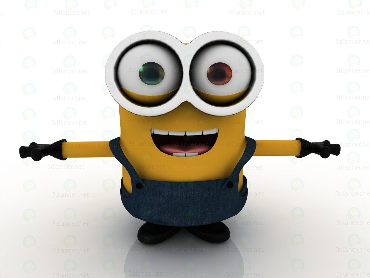 Secuaces-Bob 2015-minion 3D modelo Compro - render