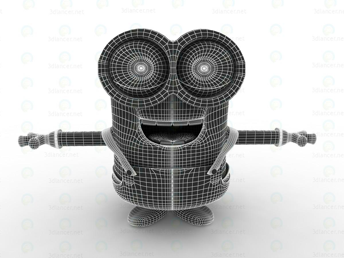 3d Minions-2015 Bob-minion model buy - render