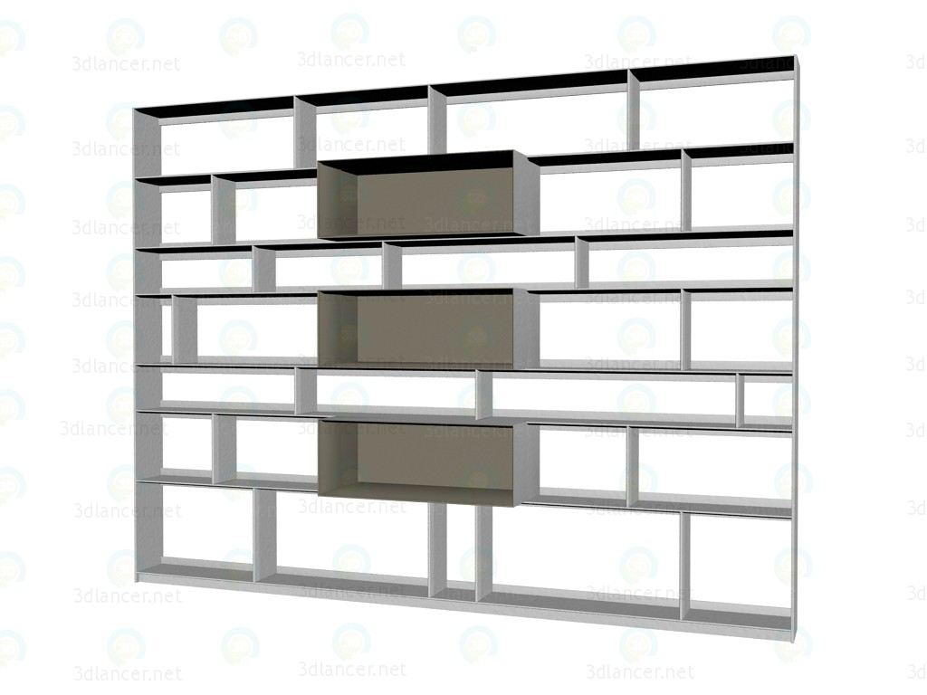 3d model Furniture system (rack) FC0927,B&B Italia max(2012