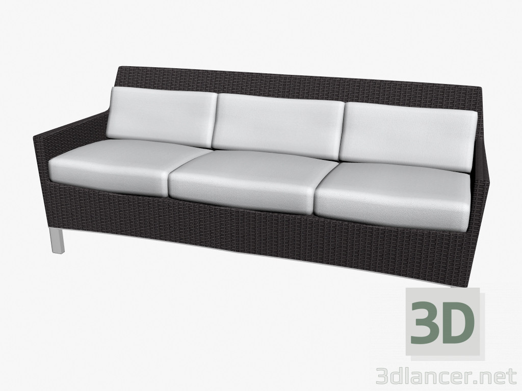 3d model sofa bed double manufacturer triconfort id 16415 for Sofa bed 3d model