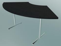 Table Flip-top en forme de croissant en T (1200x600mm)