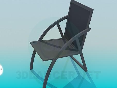 3d модель Стілець для ганку – превью