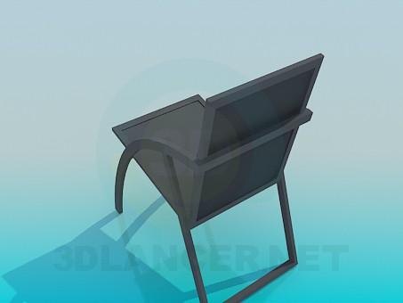 modelo 3D Silla del porche - escuchar