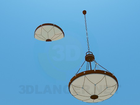 3d model Chandelier and sconce set - preview
