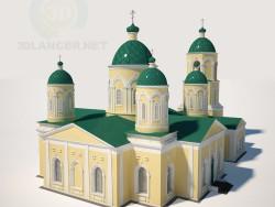 Penza क्षेत्र में Mikhailovka के ट्रिनिटी चर्च