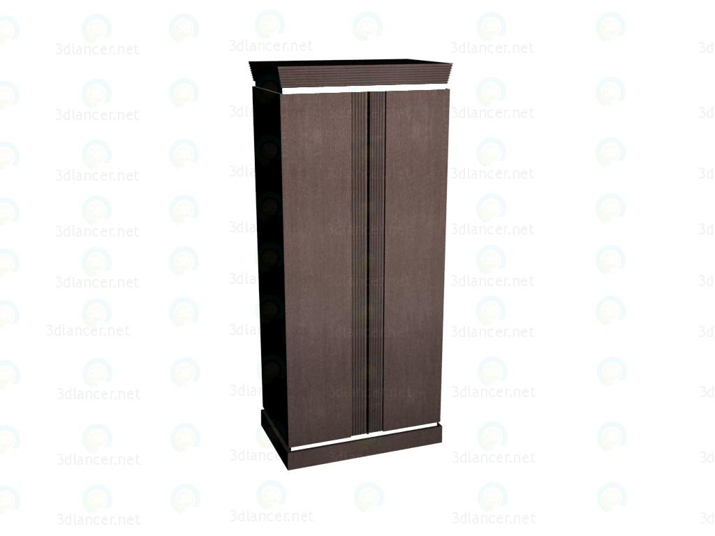 3d модель Шкаф 2-дверный VOX – превью