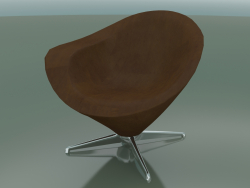 Armchair PETIT with leather upholstery