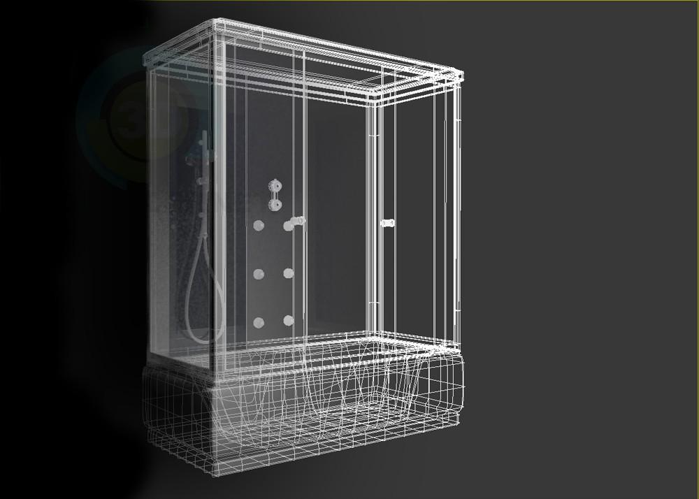 3d model Shower Aqua.joy 1700 - preview