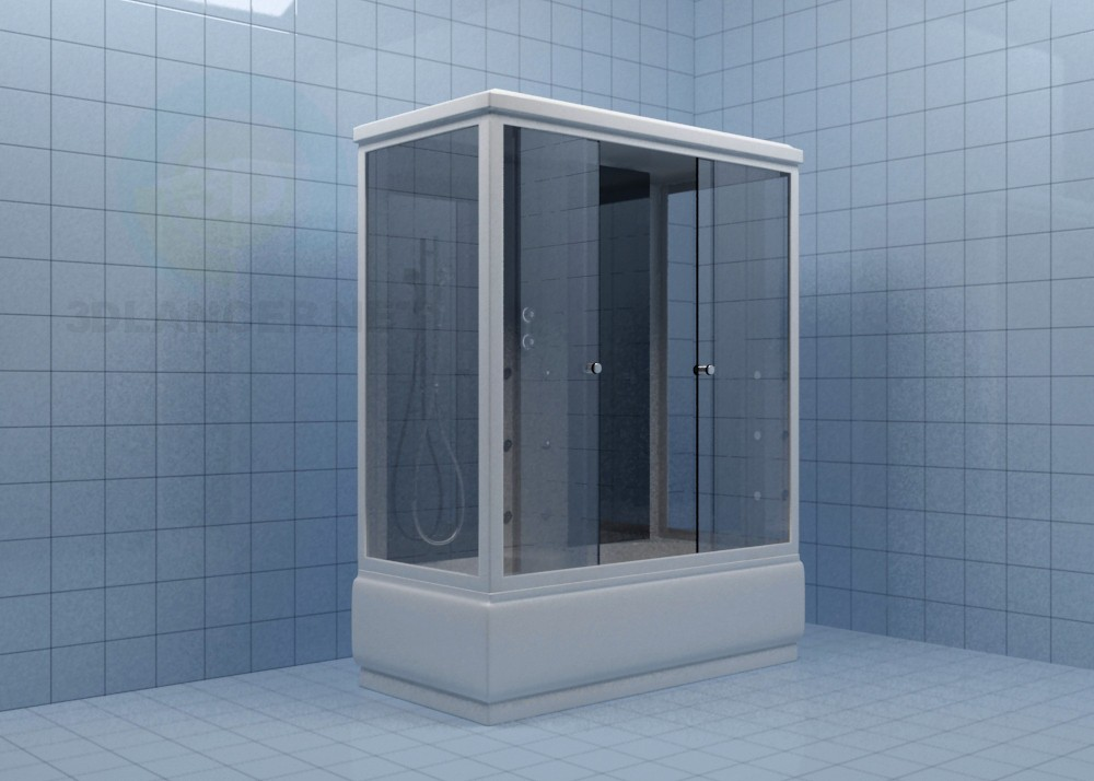 3d model Shower Aqua.joy 1700 - preview