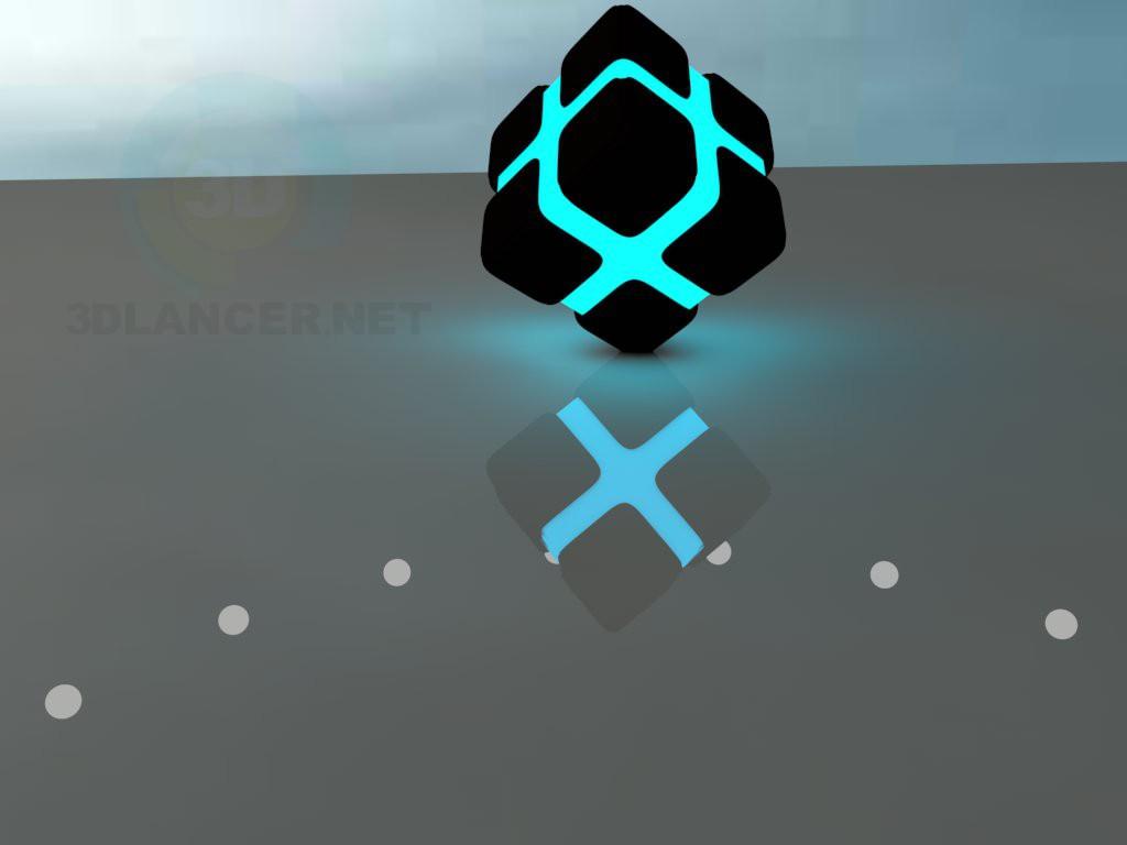 descarga gratuita de 3D modelado modelo Cubo