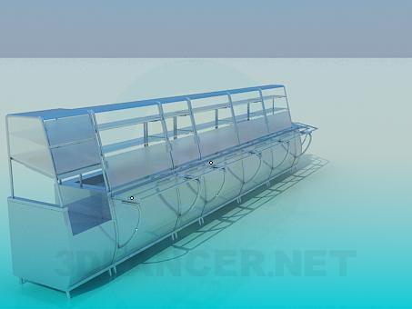 modèle 3D Ligne de distribution pour la salle à manger - preview