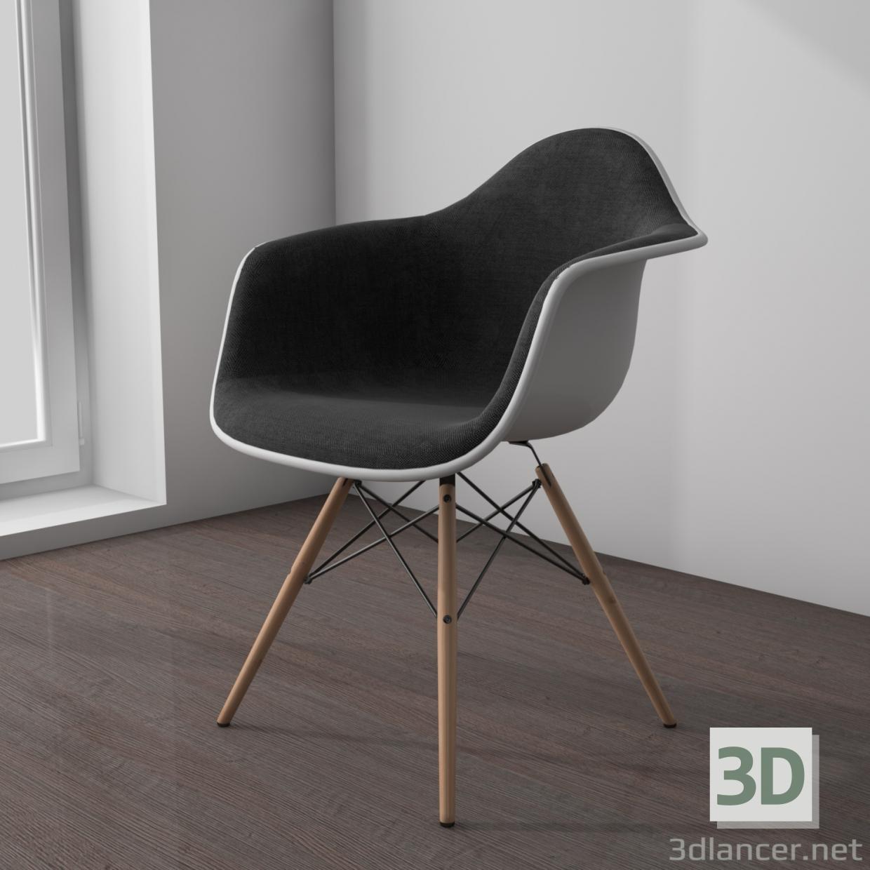 3 डी मॉडल vitra eames आर्मचेयर - पूर्वावलोकन