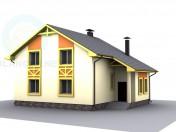 Мансардный домик