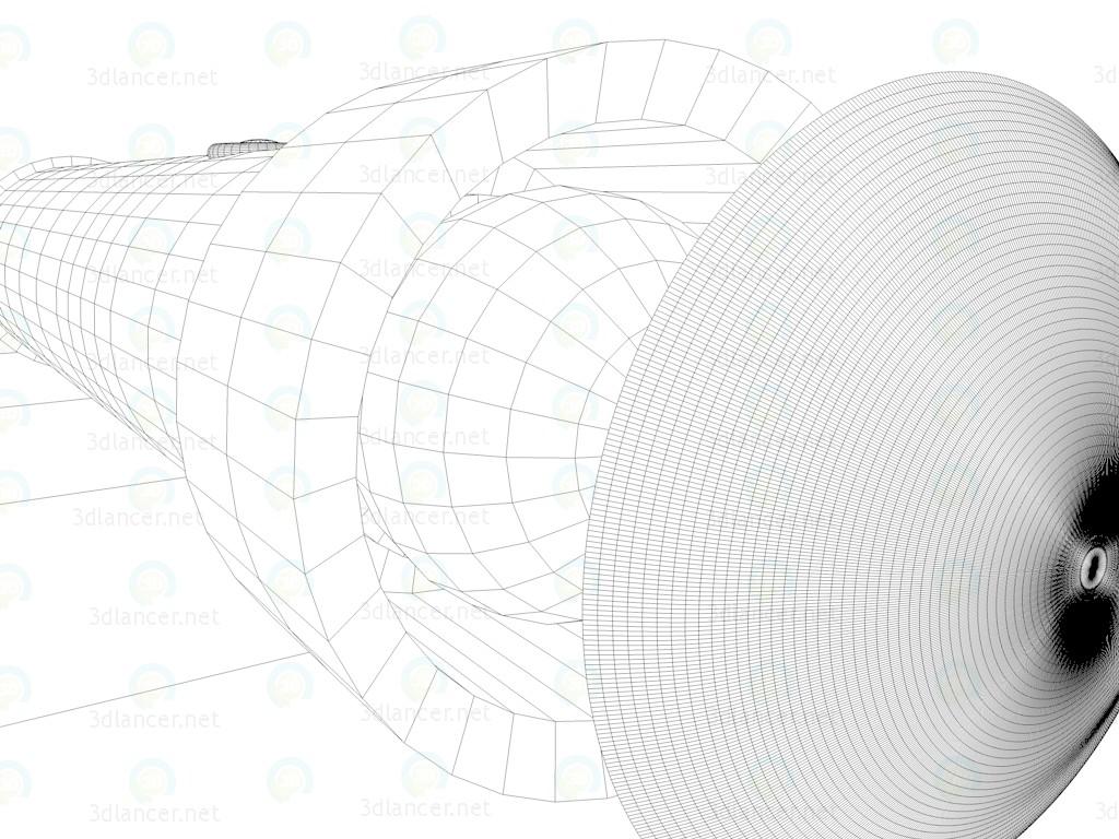 modelo 3D Lámpara de mano - linterna - escuchar