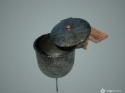 Washbasin, washbasin (aluminum, cast iron)
