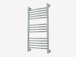 Heated towel rail Bohemia + curved (800x400)