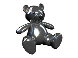 Toy Teddy Silver