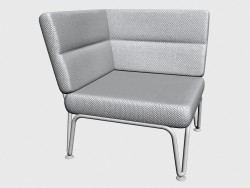 Seat angled Corner Seat Stackable 92210 92260