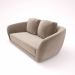 3d SEGNO SOFA model buy - render