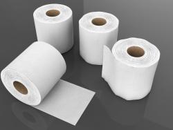 Rolo de papel de seda 3D