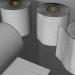 Rollo de papel de seda 3D 3D modelo Compro - render