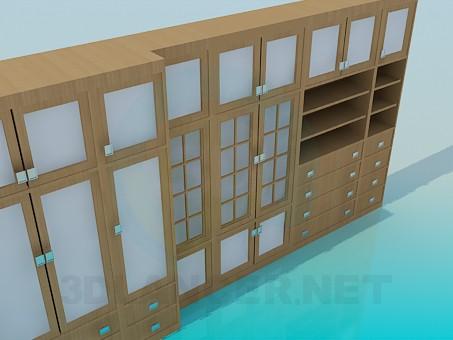 3d моделювання Гарнітур для вітальні модель завантажити безкоштовно