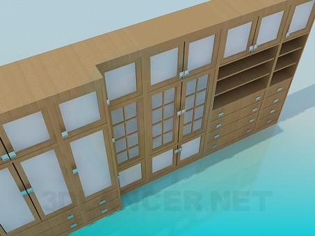3d модель Гарнітур для вітальні – превью