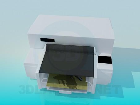 3d моделирование Цветной принтер модель скачать бесплатно