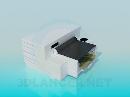 3d модель Цветной принтер – превью