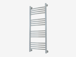 Heated towel rail Bohemia + curved (1000x400)