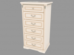Chest of drawers with six (678x1256x495)
