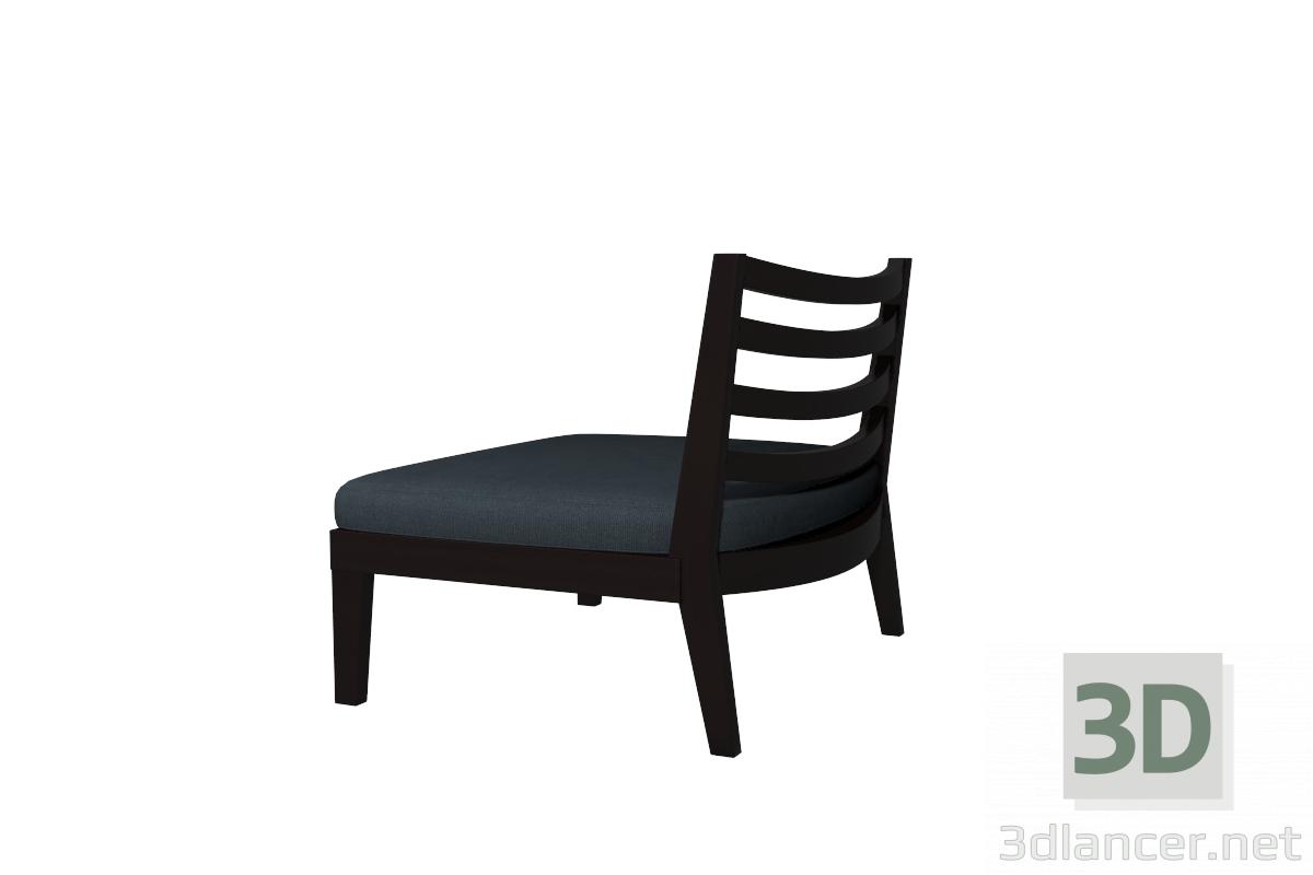3d model Chair Flexform Afro - preview