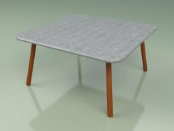 Coffee table 011 (Metal Rust, Luna Stone)
