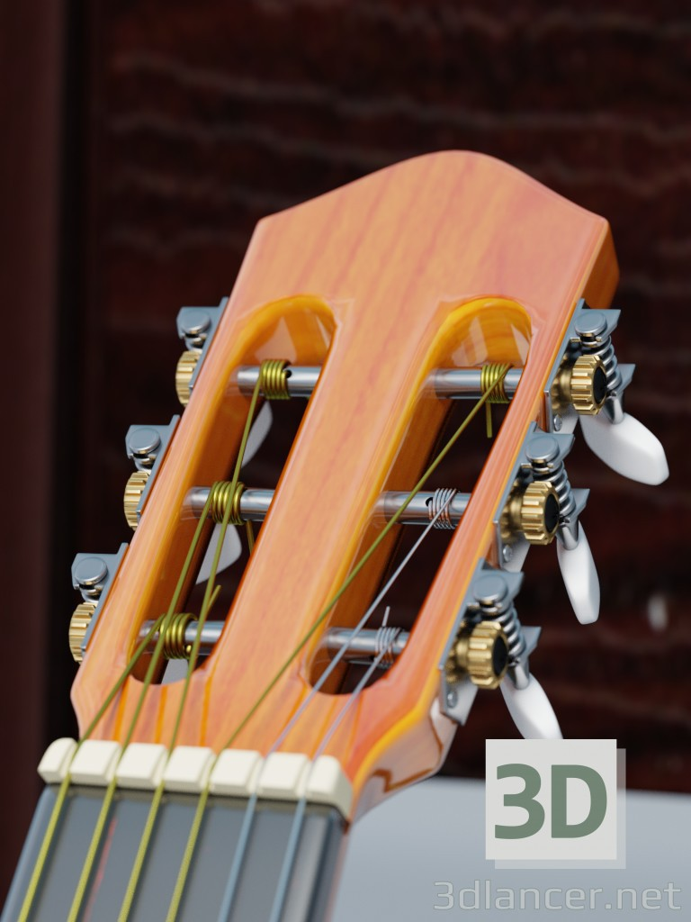 3d model Guitar - preview