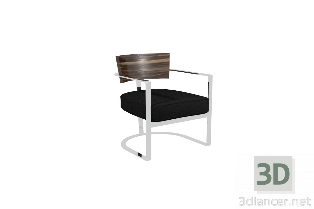 3d model Flexform Morgan chair - preview