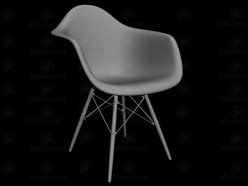 3d model chair 3ds max in the style of minimalism id 14422 for Chair design 3ds max