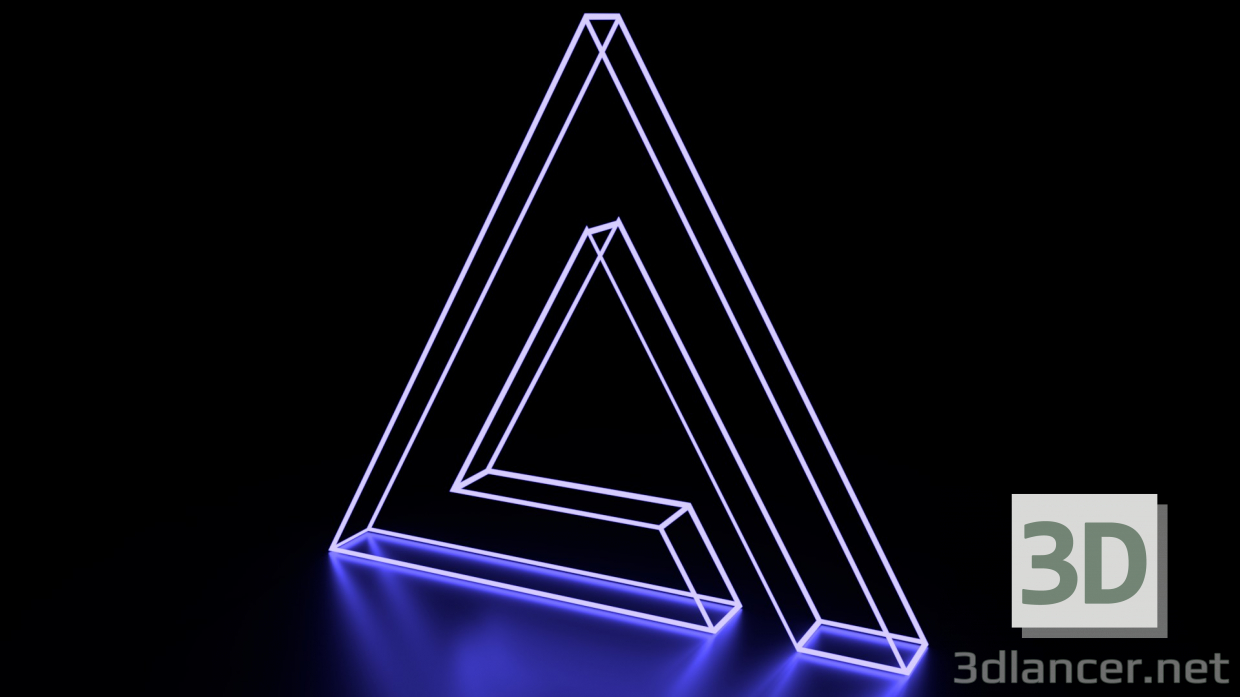 3d model AIMP Logo - preview