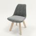 3d Chair FRANKFURT model buy - render
