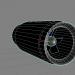 3 डी प्रशंसक सुरंग सुरंग प्रशंसक मॉडल खरीद - रेंडर