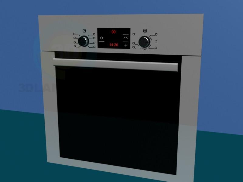 modelo 3D Panel de horno - escuchar