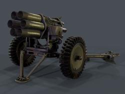 Nebelwerfer 3d modeli