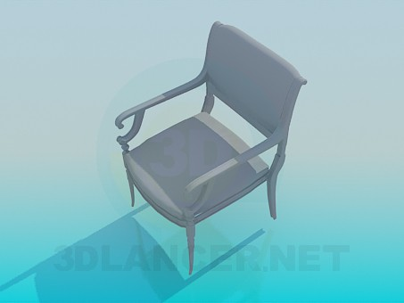3d model Chair in classical style - preview