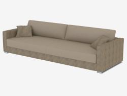 Sofá de cuero moderno Cassandra (280х100х75)
