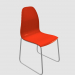 3d model plastic chair - preview
