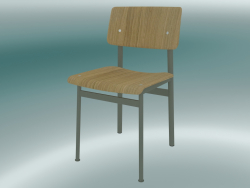 Loft Chair (Oak, Dusty Green)