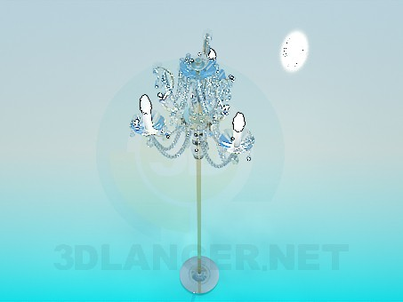 3d modeling Floor lamp model free download